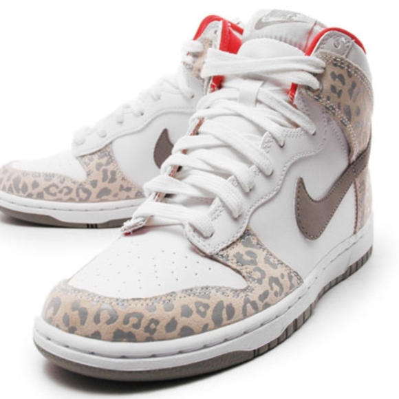 "super popular e02a2 bd1ed WMNS NIKE DUNK HIGH Skinny ""Leopard Pack"""